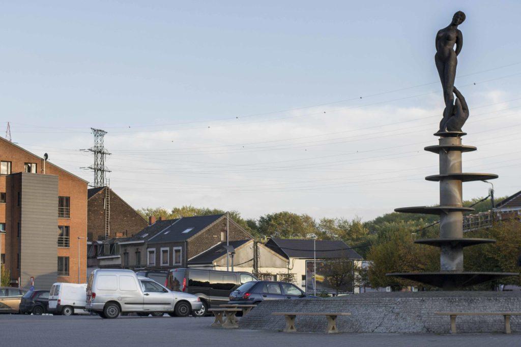 Fêtes de Wallonie, place complètement fermée